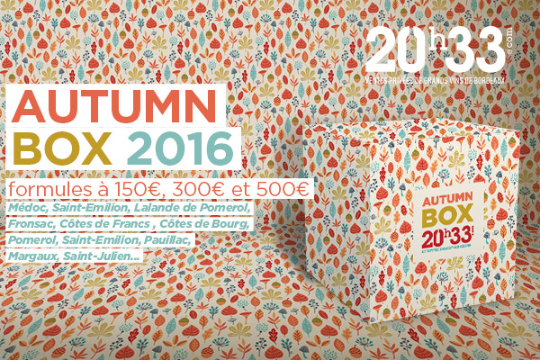 La Box d'Automne 2016 by 20h33